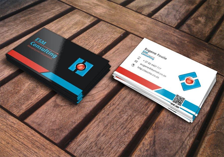 Bài tham dự cuộc thi #                                        15                                      cho                                         Design Business Cards for ESM Consulting