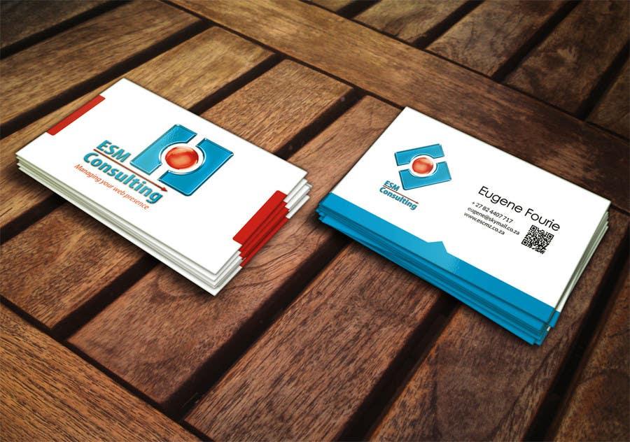 Bài tham dự cuộc thi #                                        17                                      cho                                         Design Business Cards for ESM Consulting