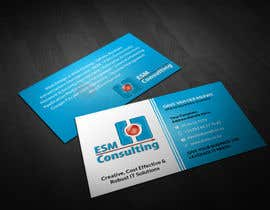 #22 cho Design Business Cards for ESM Consulting bởi pointlesspixels