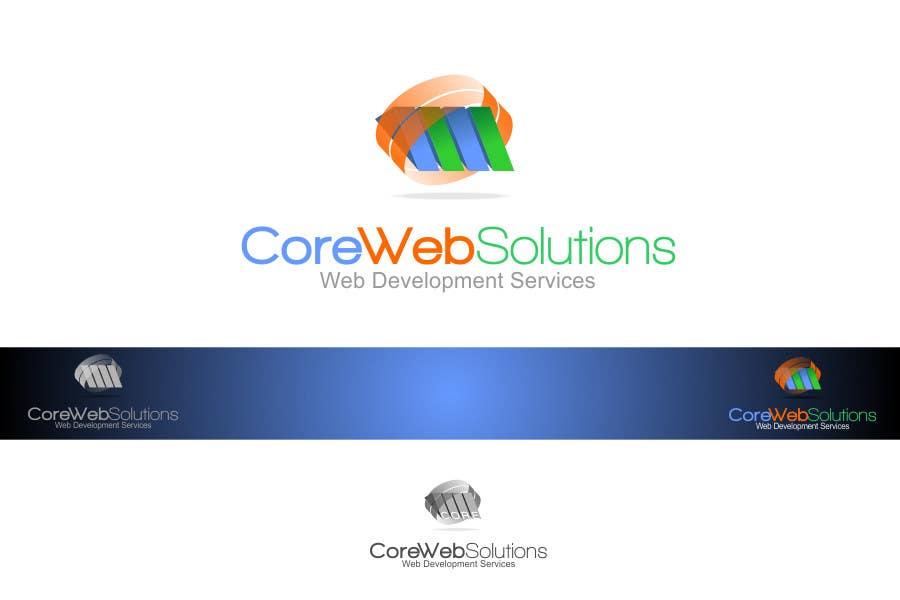 Penyertaan Peraduan #                                        247                                      untuk                                         Logo Design for Core Web Solutions