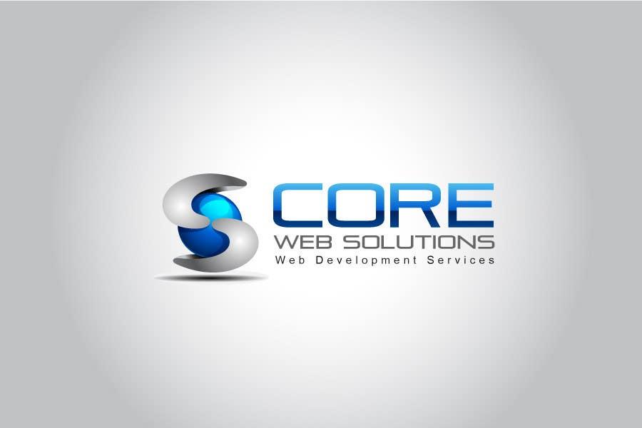 Penyertaan Peraduan #195 untuk Logo Design for Core Web Solutions