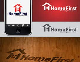 #77 para Logo Design for Home First Property Inspections por ulogo