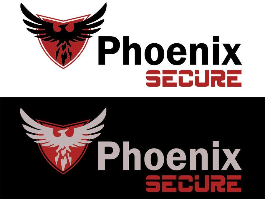 Proposition n°                                        25                                      du concours                                         Design a Logo for Phoenix Secure