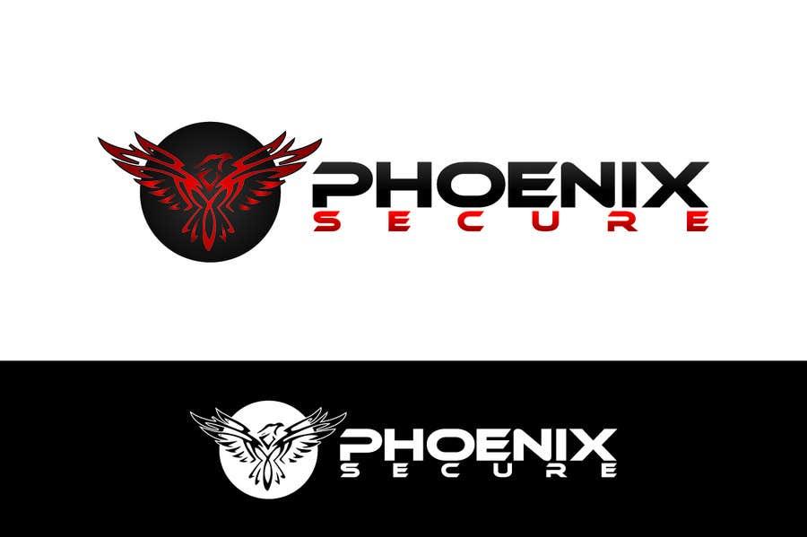 Proposition n°                                        9                                      du concours                                         Design a Logo for Phoenix Secure