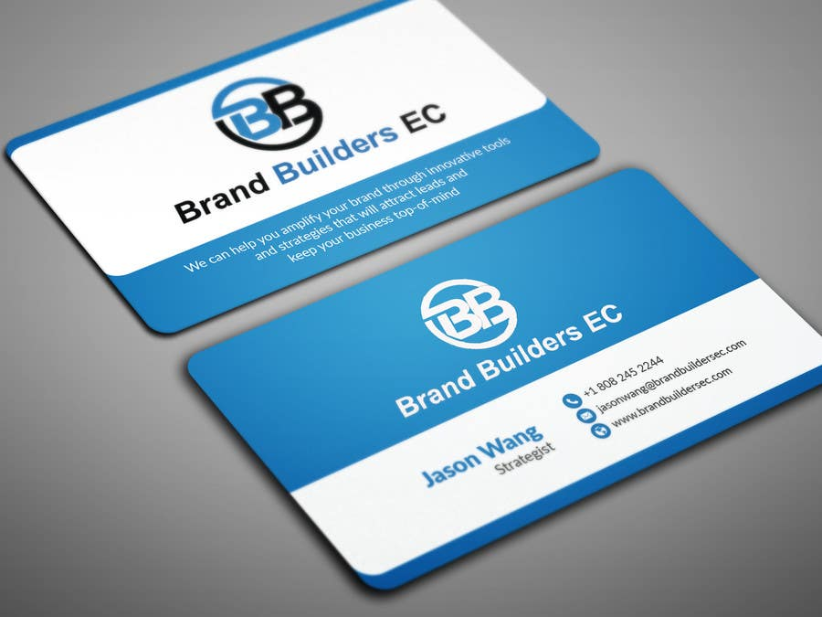 Contest Entry 86 For Business Cards Brand Builders Ec