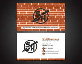 #34 for Masonry contractor Business Card and logo by papri802030