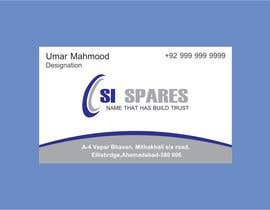 #60 para Business Card Design for SI - Spares de endlessdesigning