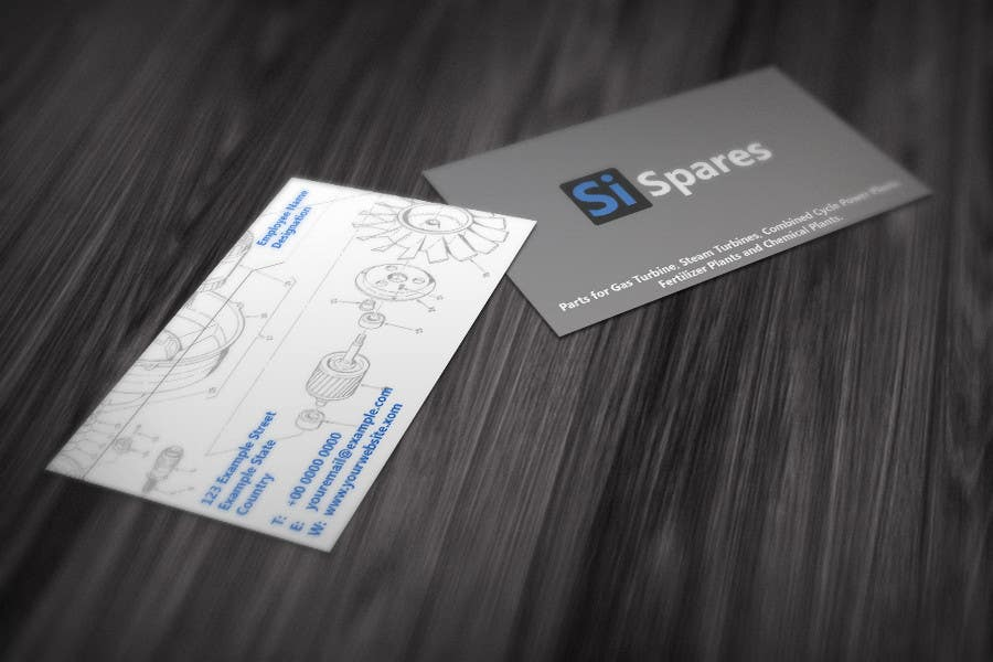 #30 for Business Card Design for SI - Spares by Marlonuk