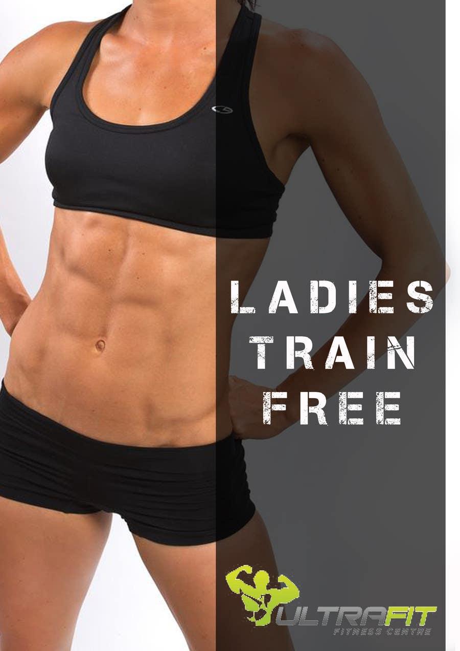 Inscrição nº                                         29                                      do Concurso para                                         Design a Flyer for Ultrafit ladies train for free