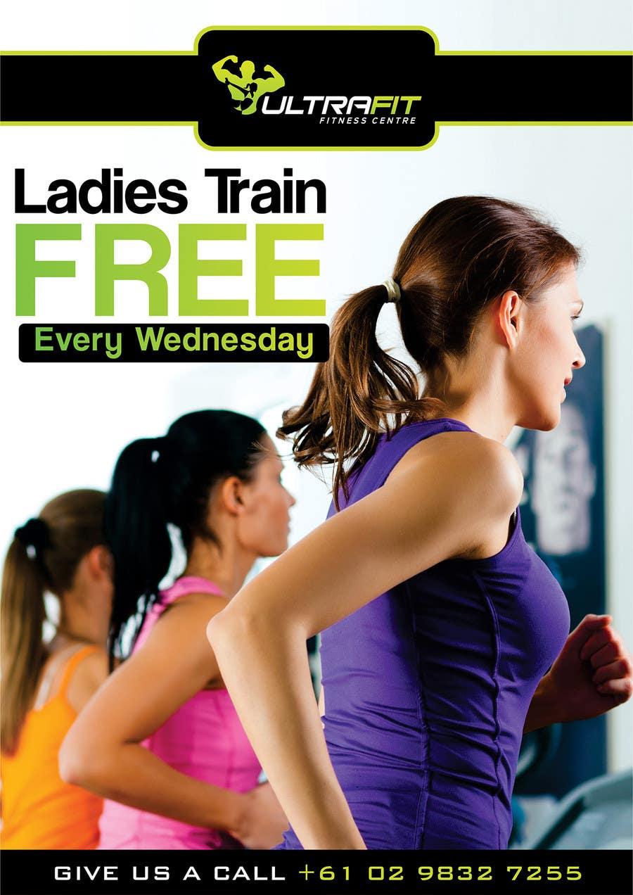 Inscrição nº                                         10                                      do Concurso para                                         Design a Flyer for Ultrafit ladies train for free