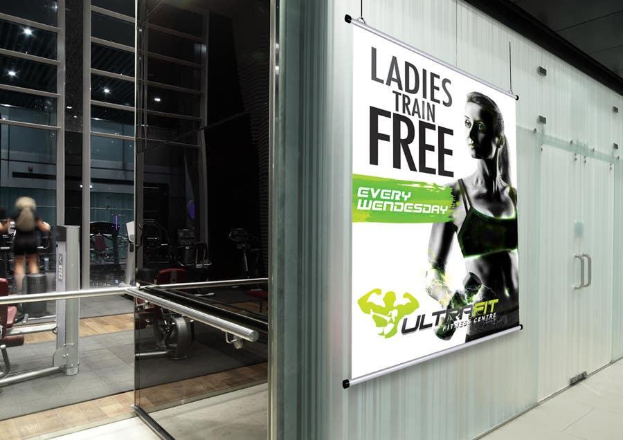 Inscrição nº                                         33                                      do Concurso para                                         Design a Flyer for Ultrafit ladies train for free
