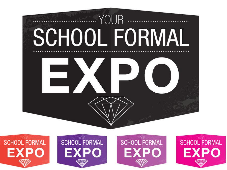 Proposition n°                                        85                                      du concours                                         Logo Design for Your School Formal Expo