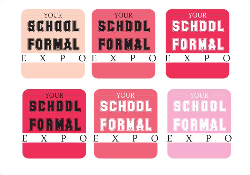 Proposition n°                                        106                                      du concours                                         Logo Design for Your School Formal Expo