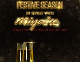 """nº 31 pour Design a 30"""" by 40"""" portrait poster in photoshop for restaurant christmas booking par MichaelMeras"""