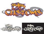 Graphic Design Kilpailutyö #58 kilpailuun Logo Design for 393 CUSTOMS