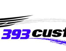 #129 para Logo Design for 393 CUSTOMS por Glukowze