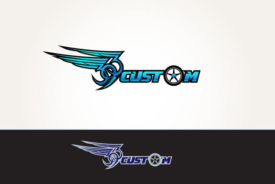 Kilpailutyö #                                        64                                      kilpailussa                                         Logo Design for 393 CUSTOMS