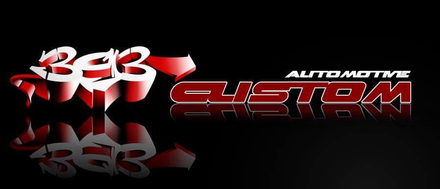 Kilpailutyö #78 kilpailussa Logo Design for 393 CUSTOMS