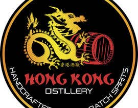 #32 for Design a sticker for our Hong Kong Distillery logo by drugbound