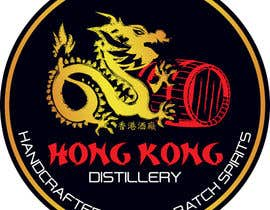 #55 for Design a sticker for our Hong Kong Distillery logo by drugbound
