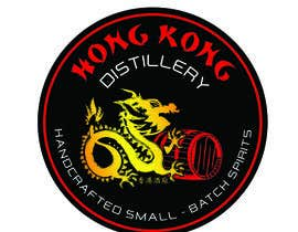 #50 for Design a sticker for our Hong Kong Distillery logo by stuartcorlett