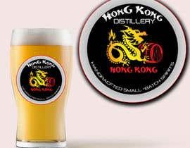 #8 για Design a sticker for our Hong Kong Distillery logo από radudangratian