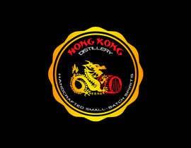 #43 για Design a sticker for our Hong Kong Distillery logo από chanmack