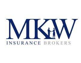 #392 สำหรับ Logo Design for MKW Insurance Brokers  (replacing www.wiblininsurancebrokers.com.au) โดย jtmarechal
