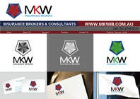 Participación Nro. 372 de concurso de Graphic Design para Logo Design for MKW Insurance Brokers  (replacing www.wiblininsurancebrokers.com.au)