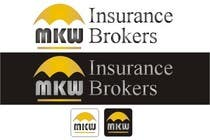 Graphic Design Wettbewerbsbeitrag #297 für Logo Design for MKW Insurance Brokers  (replacing www.wiblininsurancebrokers.com.au)