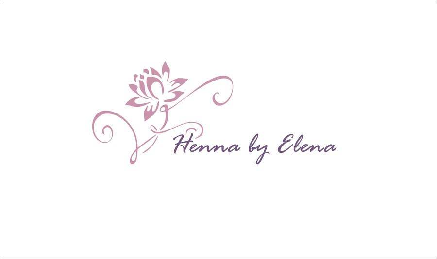 Entry 19 By Grifuzice For Design A Logo For A Henna Artist Freelancer