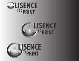 #45 untuk Design a Logo for License to Print oleh Saad1424