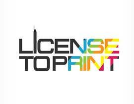 #43 untuk Design a Logo for License to Print oleh carligeanu