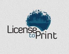 #37 untuk Design a Logo for License to Print oleh kinna23