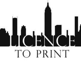 #42 untuk Design a Logo for License to Print oleh sumeer158
