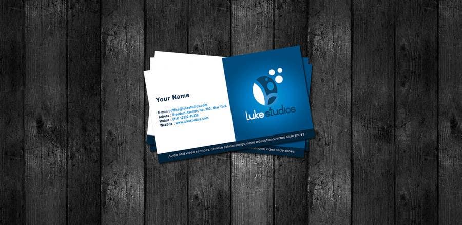 Inscrição nº 49 do Concurso para Business Card Design for Luke's Studio
