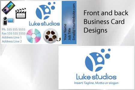 Participación en el concurso Nro.61 para Business Card Design for Luke's Studio