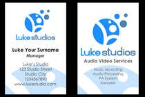 Graphic Design Contest Entry #86 for Business Card Design for Luke's Studio