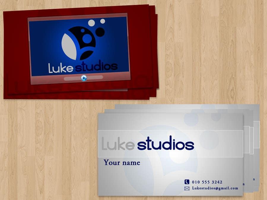 Inscrição nº 40 do Concurso para Business Card Design for Luke's Studio