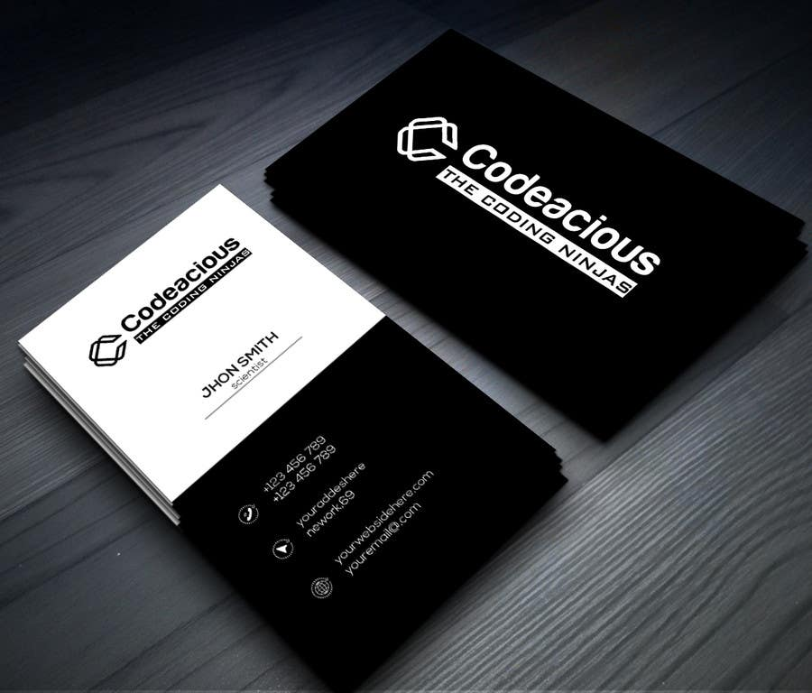 dd0f479cd864e Contest Entry  141 for Design professional and print-ready business cards