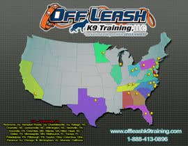 #6 para Design a Map Of Dog Training Locations por FreelanceGreg