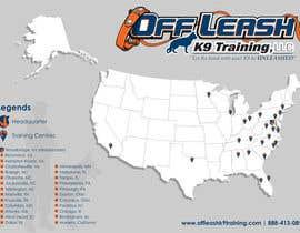 #9 para Design a Map Of Dog Training Locations por kunal83