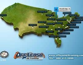 #8 para Design a Map Of Dog Training Locations por digitaldeliver