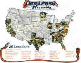 #18 para Design a Map Of Dog Training Locations por jelyfishumbrela