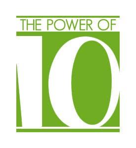 Inscrição nº                                         144                                      do Concurso para                                         Logo Design for The Power of Ten