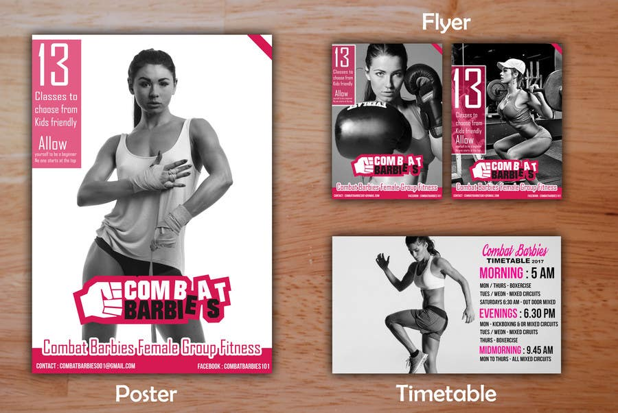 Entry #42 by marcroos for Design a Fitness Flyer 2017 | Freelancer