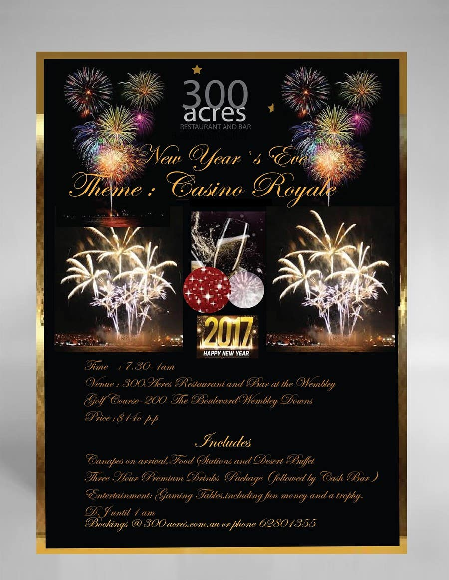 Contest Entry 74 For New Years Eve Flyer