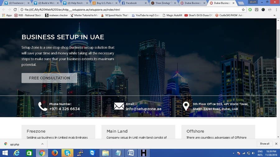 Entry #1 by rexzetsolutions for Build a Website | Freelancer