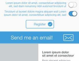 #12 para design a mobile page for 1 page por Vitaio