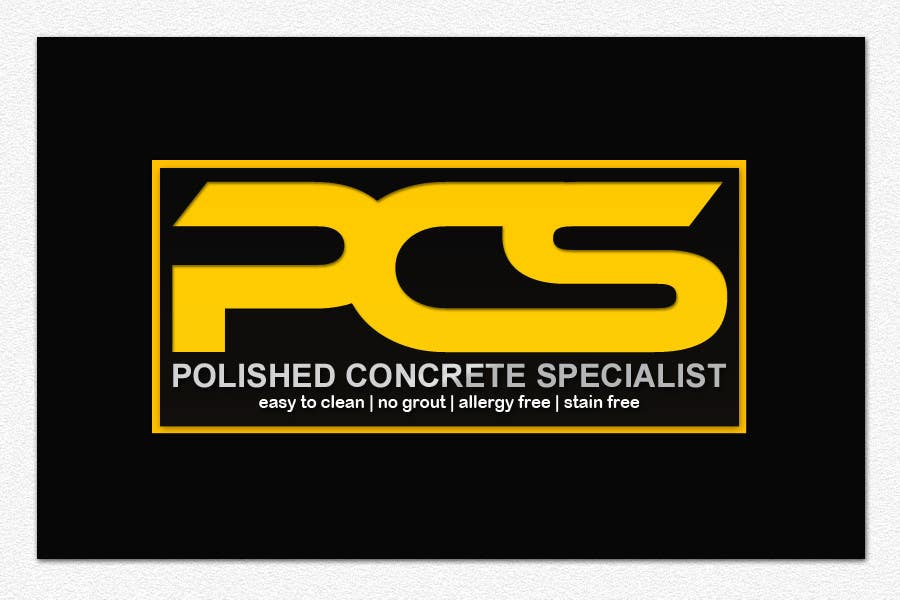 Contest Entry #2 for Logo Design for Polished Concrete Specialists